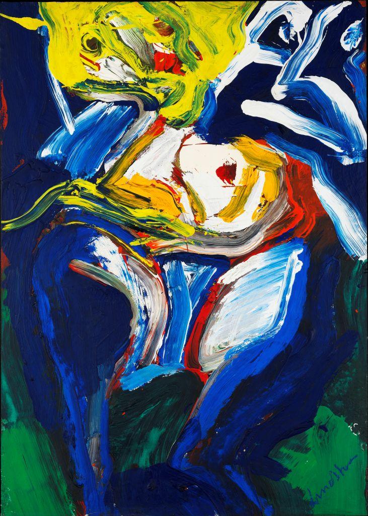 Woman, acrylic
